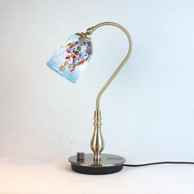 ベネチアングラステーブルランプ fc-210g-goti-p-goto-azure
