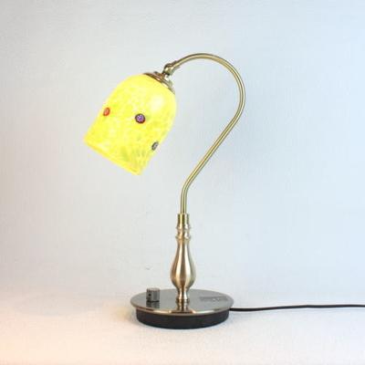 ベネチアングラステーブルランプ fc-210g-pasta2-lightgreen