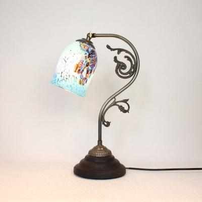 ベネチアングラステーブルランプ fc-600a-goti-p-goto-azure