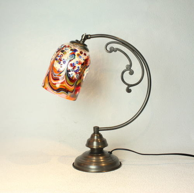 ベネチアングラステーブルランプ dd10ay-fantasy-goto-arlecchino