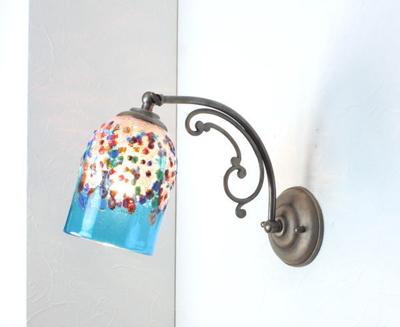 ベネチアングラスブラケットランプ fc-w10ay-fantasy-goto-lightblue