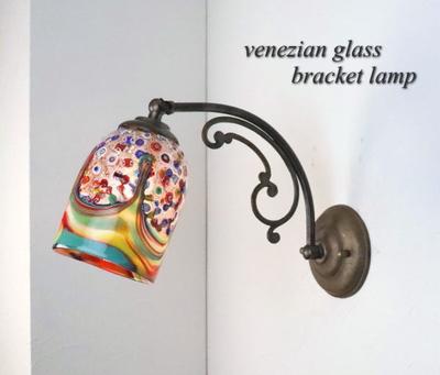 ベネチアングラスブラケットランプ fc-w10ay-fantasy-goto-arlecchino