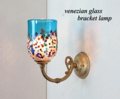 ベネチアングラスブラケットランプ fc-w634gy-fantasy-goto-lightblue