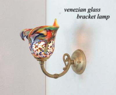ベネチアングラスブラケットランプ fc-w634gy-fantasy-calla-arlecchino