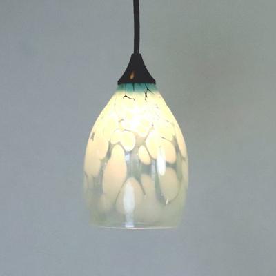 Azzurro Glass Studioペンダントランプ frit-saradongreen-no3