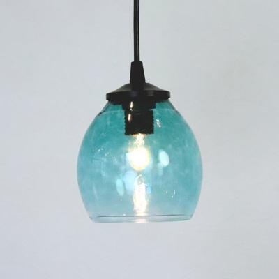 Azzurro Glass Studioペンダントランプ frit-tourmaline-no9
