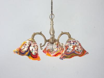 ベネチアングラスシャンデリア  fc-531-fantasy-smerlate-arlecchino