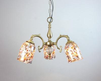 ベネチアングラスシャンデリア  fc-531-mc-gold-goto