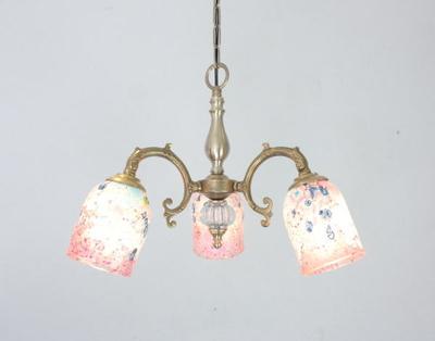 ベネチアングラスシャンデリア  fc-531-goti-p-goto-pink