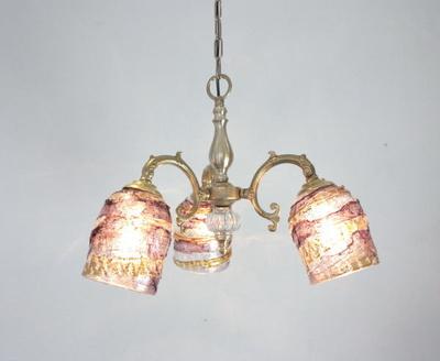 ベネチアングラスシャンデリア  fc-531-sbruffo-amethyst-amber
