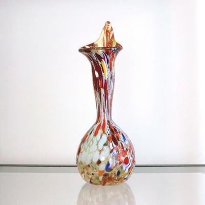 花瓶・flower base diec5amber