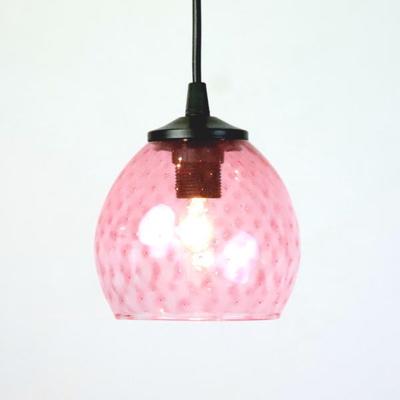 Azzurro Glass Studioペンダントランプ dot-pink-no6
