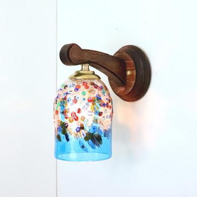 ベネチアングラスブラケットランプ fc-ww016g-fantasy-goto-lightblue
