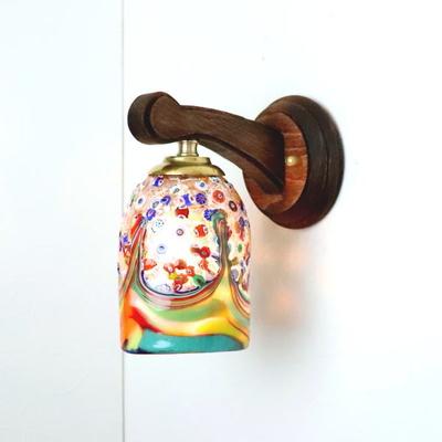ベネチアングラスブラケットランプ fc-ww016g-fantasy-goto-arlecchino