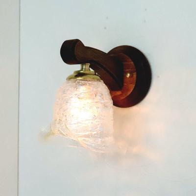 ベネチアングラスブラケットランプ fc-ww016g-calla-sbruffo-clear