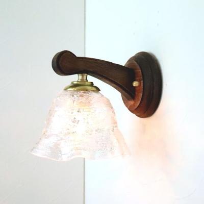 ベネチアングラスブラケットランプ fc-ww016g-smerlate-sbruffo-clear