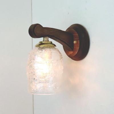 ベネチアングラスブラケットランプ fc-ww016g-sbruffo-clear