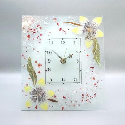 ベネチアングラス置時計 品番.pelt05-45ro-r