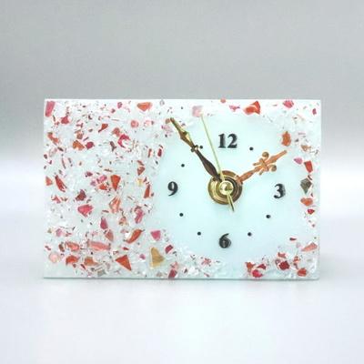 ベネチアングラス置時計 品番.pelt01-83r