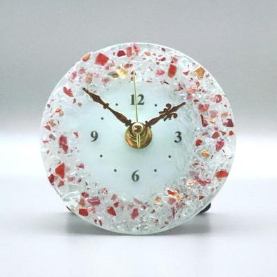 ベネチアングラス置時計 品番.pelt01-83-t