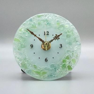 ベネチアングラス置時計 品番.pelt01-87t