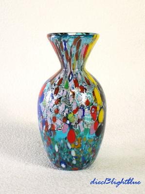 花瓶・flower base diec13lightblue