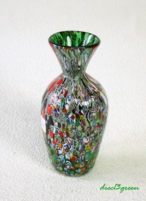 花瓶・flower base diec13green