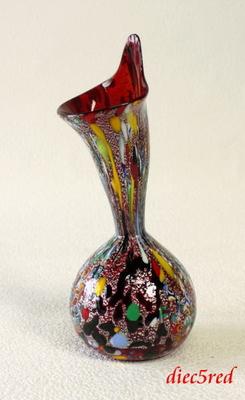 花瓶・flower base diec5red