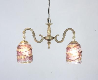ベネチアングラスシャンデリア  fc-562-sbruffo-amethyst-amber