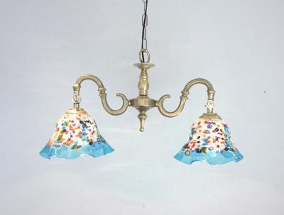 ベネチアングラスシャンデリア  fc-562-fantasy-smerlate-lightblue