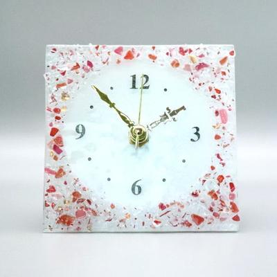ベネチアングラス置時計 品番.pelt01-83q