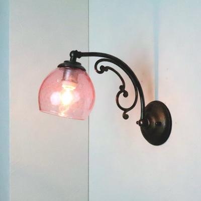 Azzurro Glass Studioブラケットランプ fc-w10ay-dot-pink-no6