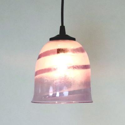 Azzurro Glass Studioペンダントランプ uzu-purple-no18