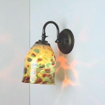 no20a Azzurro Glass Studioブラケットランプ fc-w004-az-no20a