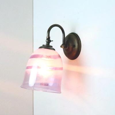 no18 Azzurro Glass Studioブラケットランプ fc-w004-uzu-purple-no18