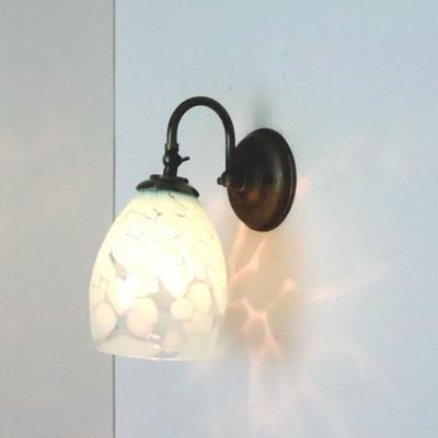 no3 Azzurro Glass Studioブラケットランプ fc-w004frit-saradongreen-no3