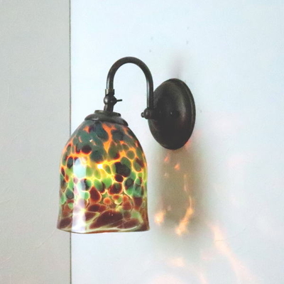 no20b Azzurro Glass Studioブラケットランプ fc-w004-az-no20b