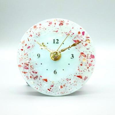 ベネチアングラス置時計 品番.pelt01-83t