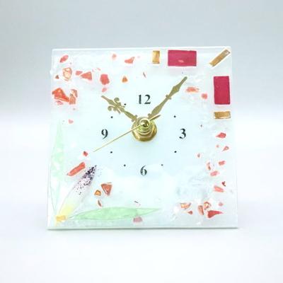 ベネチアングラス置時計 品番.pelt01-57ro-q-new