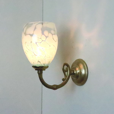 no3 Azzurro Glass Studioブラケットランプ fc-w634gy-frit-saradongreen-no3