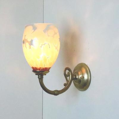 no2 Azzurro Glass Studioブラケットランプ fc-w634gy--frit-mustard-no2