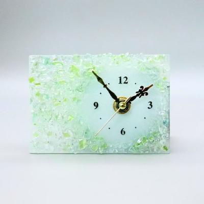 ベネチアングラス置時計 品番.pelt01-87r