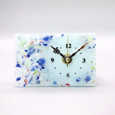 ベネチアングラス置時計 品番.pelt01-81r