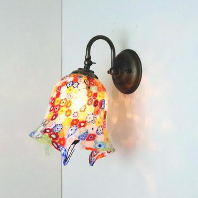 ベネチアングラスブラケットランプ fc-w004-elml8