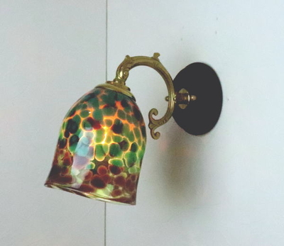 no20b Azzurro Glass Studioブラケットランプ fc-ww530g-az-no20b