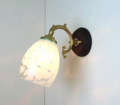 no3 Azzurro Glass Studioブラケットランプ fc-ww530g-frit-saradongreen-no3