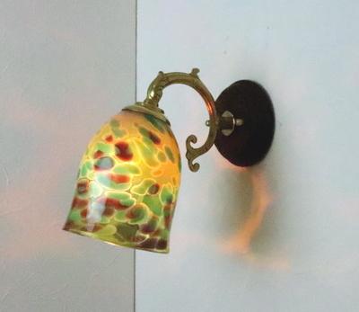 no20a Azzurro Glass Studioブラケットランプ fc-ww530g-az-no20a