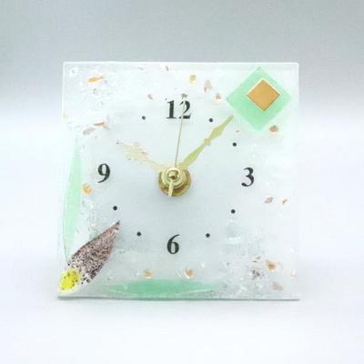 ベネチアングラス置時計 品番.pelt01-66q