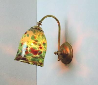 no20a Azzurro Glass Studioブラケットランプ fc-w208-az-no20a