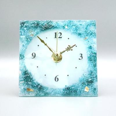 ベネチアングラス置時計 品番.pelt01-85q